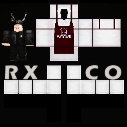 Roblox Apron Template Cafe Worker Uniform Shirt Roblox