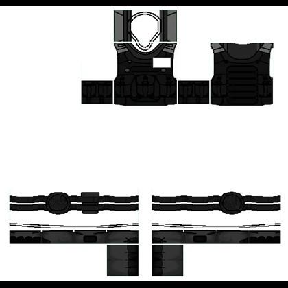 Roblox Vest Template Bat Uniform Template Roblox