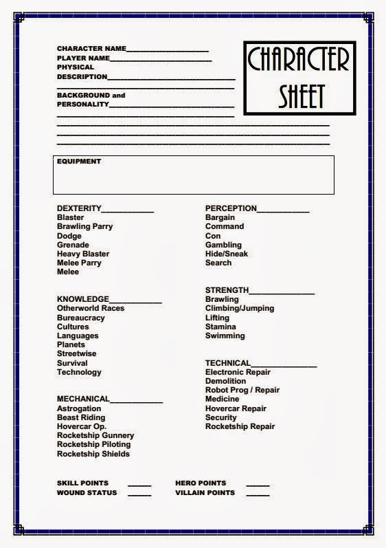 Roleplay Character Sheet Template Farsight Blogger January 2014