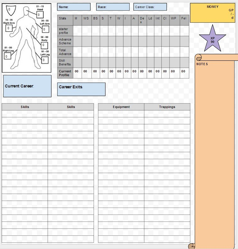 Roleplay Character Sheet Template Show Off Your Character Sheet Designs Role Playing Games