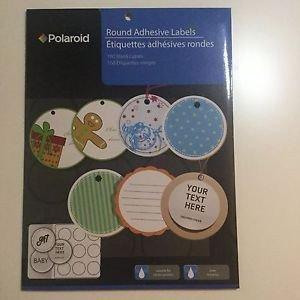 Round Adhesive Label Template Polaroid Best S Of Polaroid Round Adhesive Labels Template 2