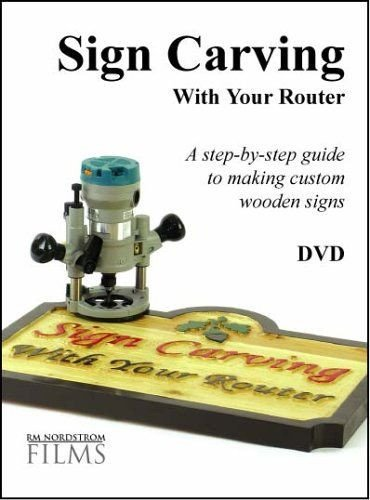 Router Sign Making Template Sign Carving with Your Router Signmaker Jim Bartz