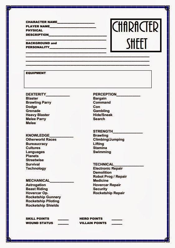 Rpg Character Sheet Template Farsight Blogger January 2014
