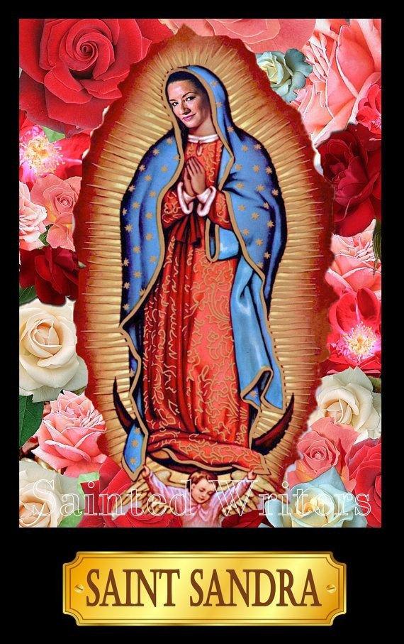 Saint Candle Template Saint Sandra Cisneros Writer S Prayer Candle by