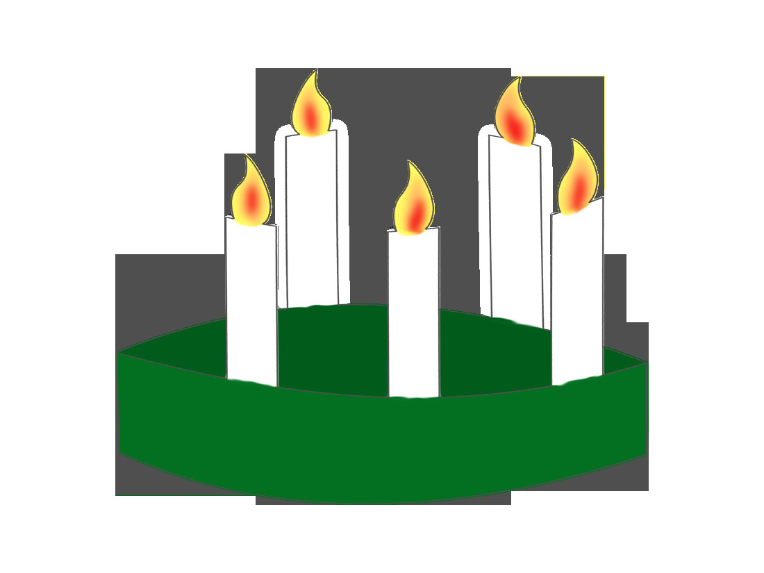 Saint Candle Template St Lucia's Crown – Magic Activities