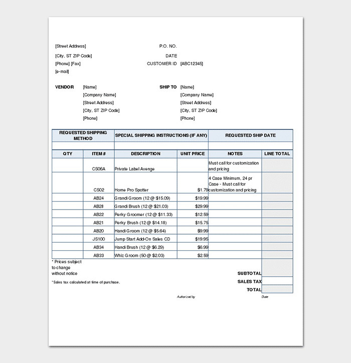 Sales order forms Templates Sales order Template 22 formats & Examples Word Excel