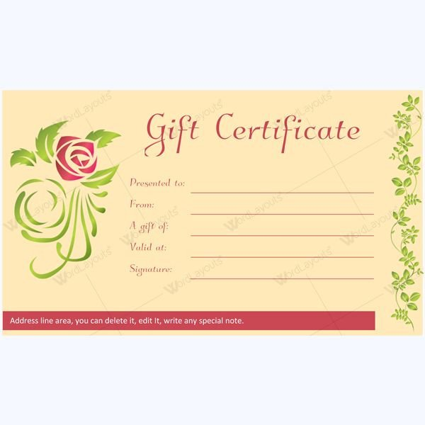 Salon Gift Certificates Templates 12 Best Spa and Saloon Gift Certificate Templates Images