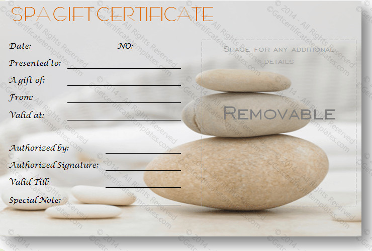 Salon Gift Certificates Templates Gift Certificate Template