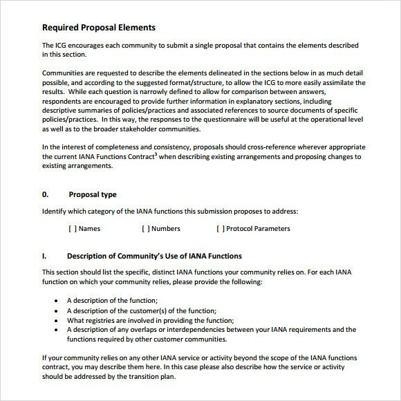 Sample Rfp Response Letter Sample Rfp Response Template 8 Free Documents In Pdf