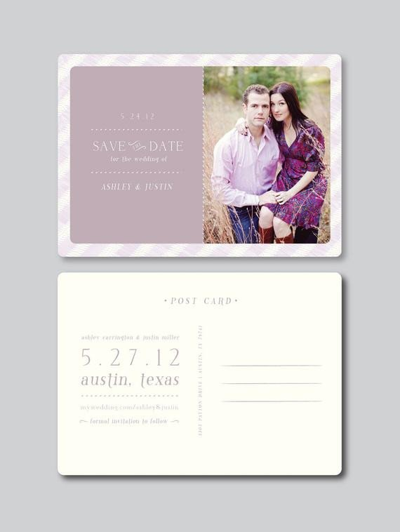Save the Date Postcard Templates Items Similar to Sale Save the Date Card Design