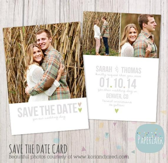 Save the Date Postcard Templates Save the Date Card Template Aw007 Instant Download