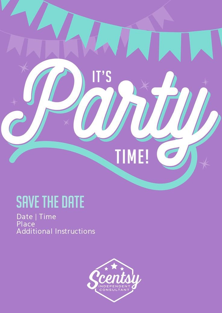 Scentsy Party Invitation