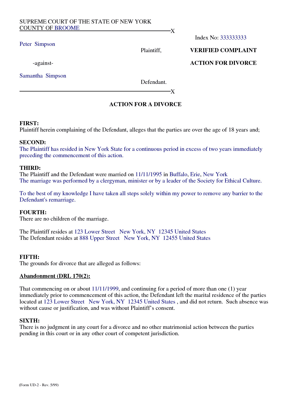 Separation Agreement Template Word top 5 Free formats Of Separation Agreement Templates