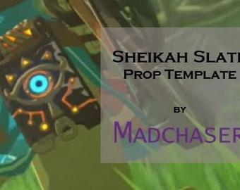Sheikah Slate Template Sheikah Slate