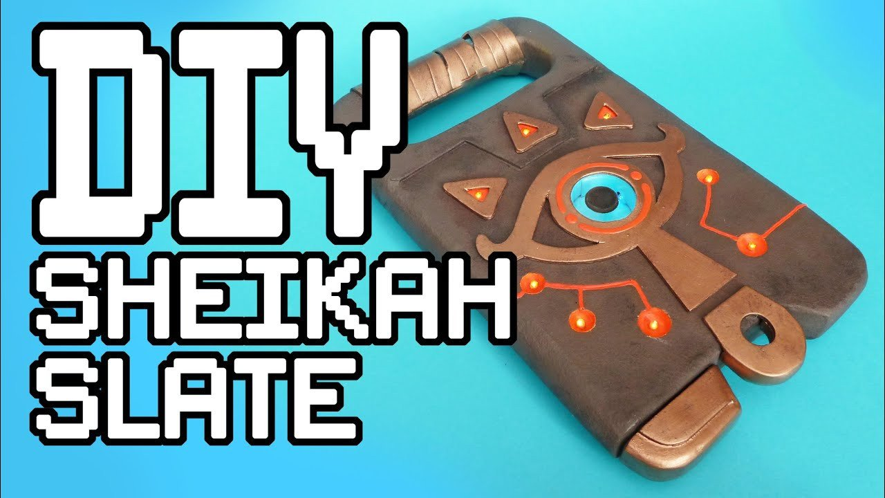 Sheikah Slate Template the Legend Of Zelda Breath the Wild Sheikah Slate Diy