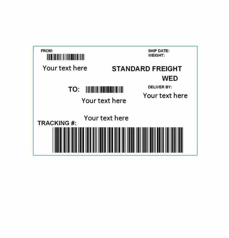 Shipping Label Template Free 36 Fantastic Label Templates Address Shipping Mailing