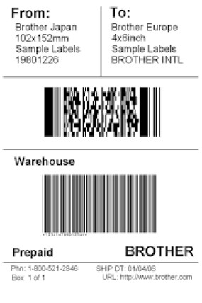 Shipping Label Template Free 5 Free Shipping Label Templates Excel Pdf formats