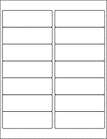 """Shipping Label Template Word Mailing Labels Address Labels Ol100 4"""" X 1 33"""""""