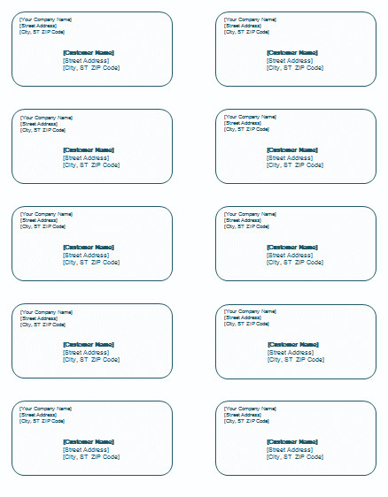 Shipping Label Template Word Shipping Label Template Templates for Microsoft Word