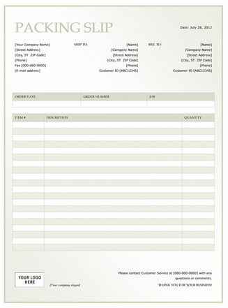 Shipping Packing List Template Shipping Packing List Template Microsoft Fice Templates