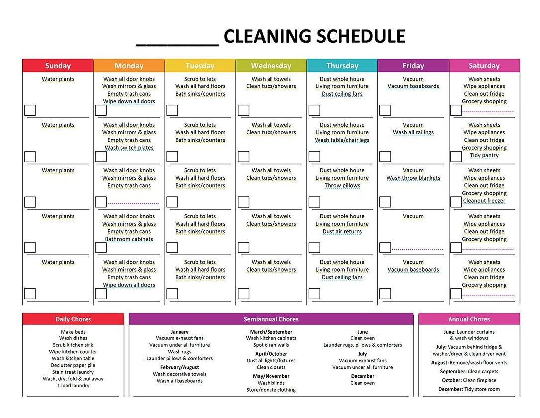 plete Housekeeping Printable Set – Gone Like Rainbows