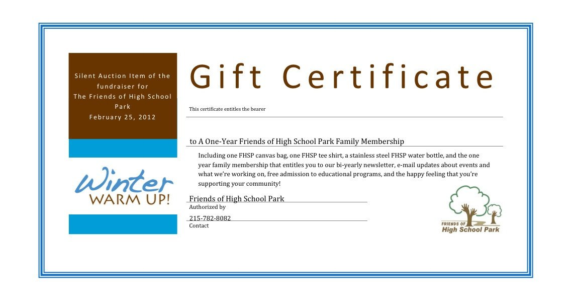 Certificate Templates Charity Voucher Templates pany