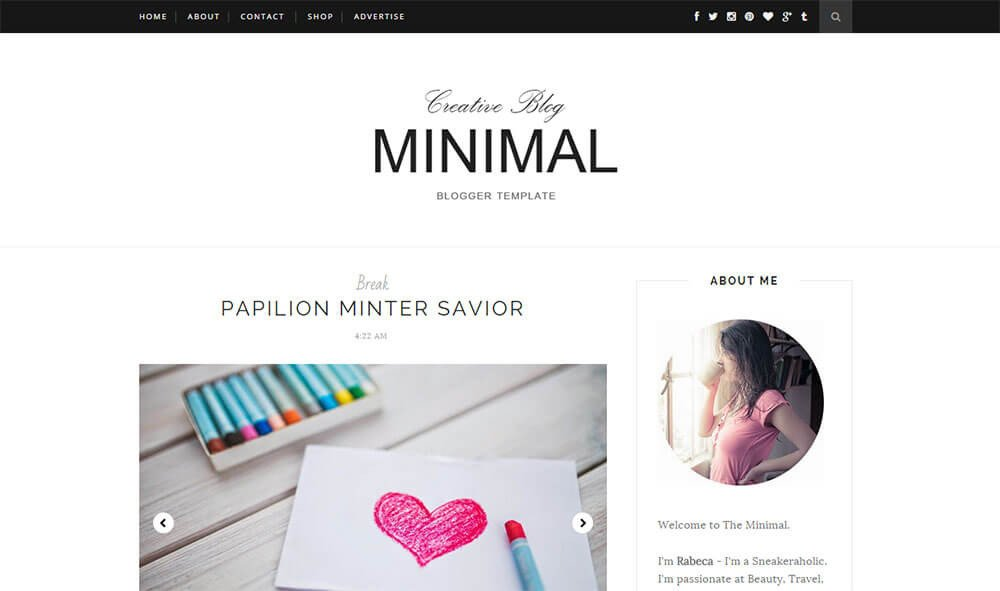 Simple Blogger Templates Free 10 Best Free Simple Blogger Templates 2018 themelibs
