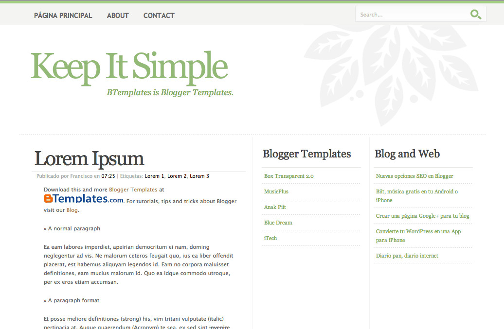 Simple Blogger Templates Free 8 Free Blogger Templates Worth Exploring