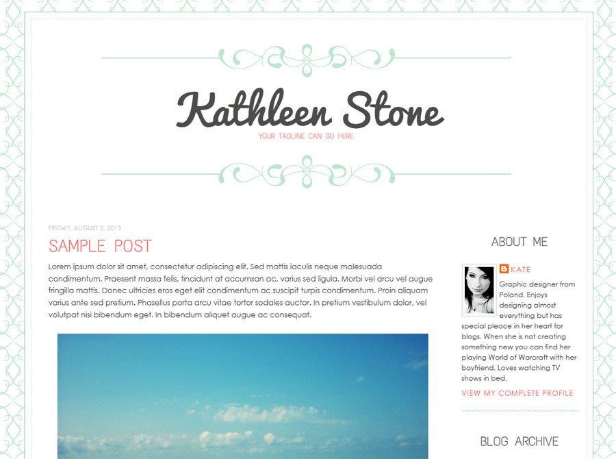 Simple Blogger Templates Free New Blogger Templates Designer Blogs