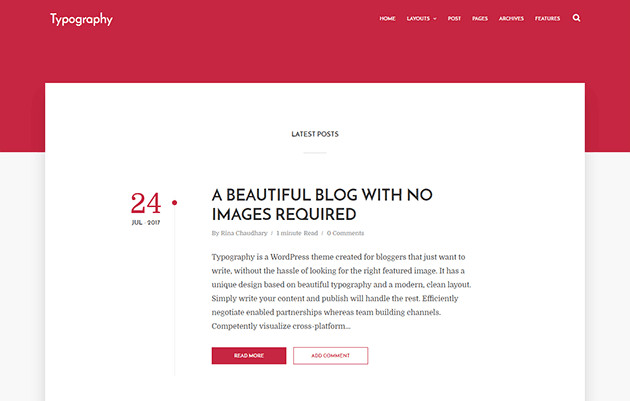 Simple Blogger Templates Free Typography Simple Blogger Template