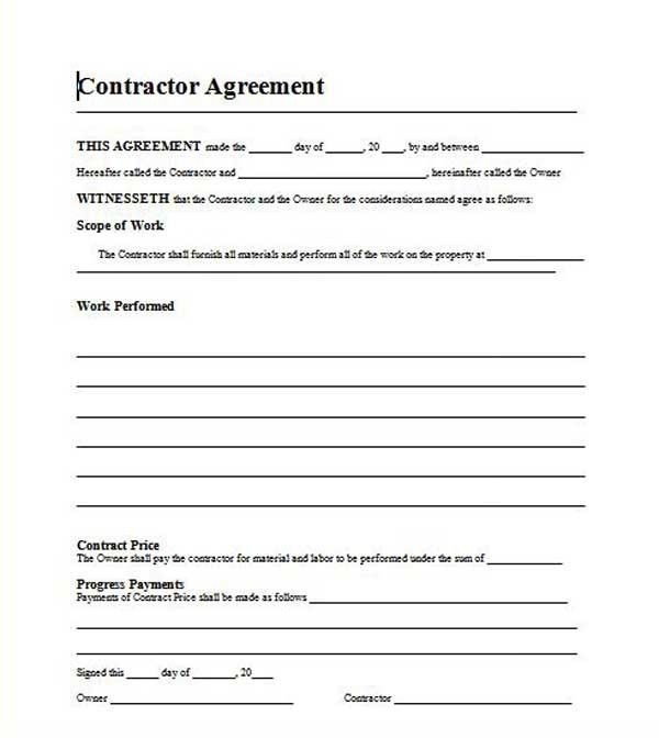 Simple Roofing Contract Template 12 Best Proposal Images On Pinterest