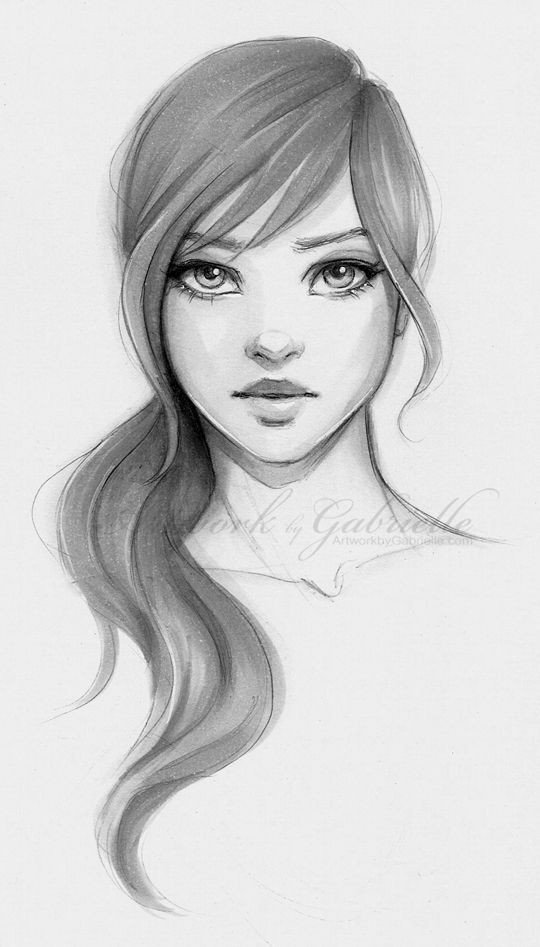 Image result for easy portrait drawing