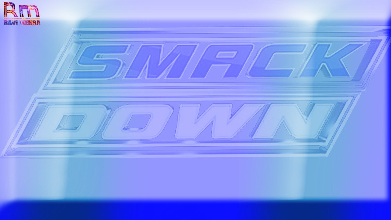 Smackdown Match Card Template Renders Backgrounds Logos June 2016