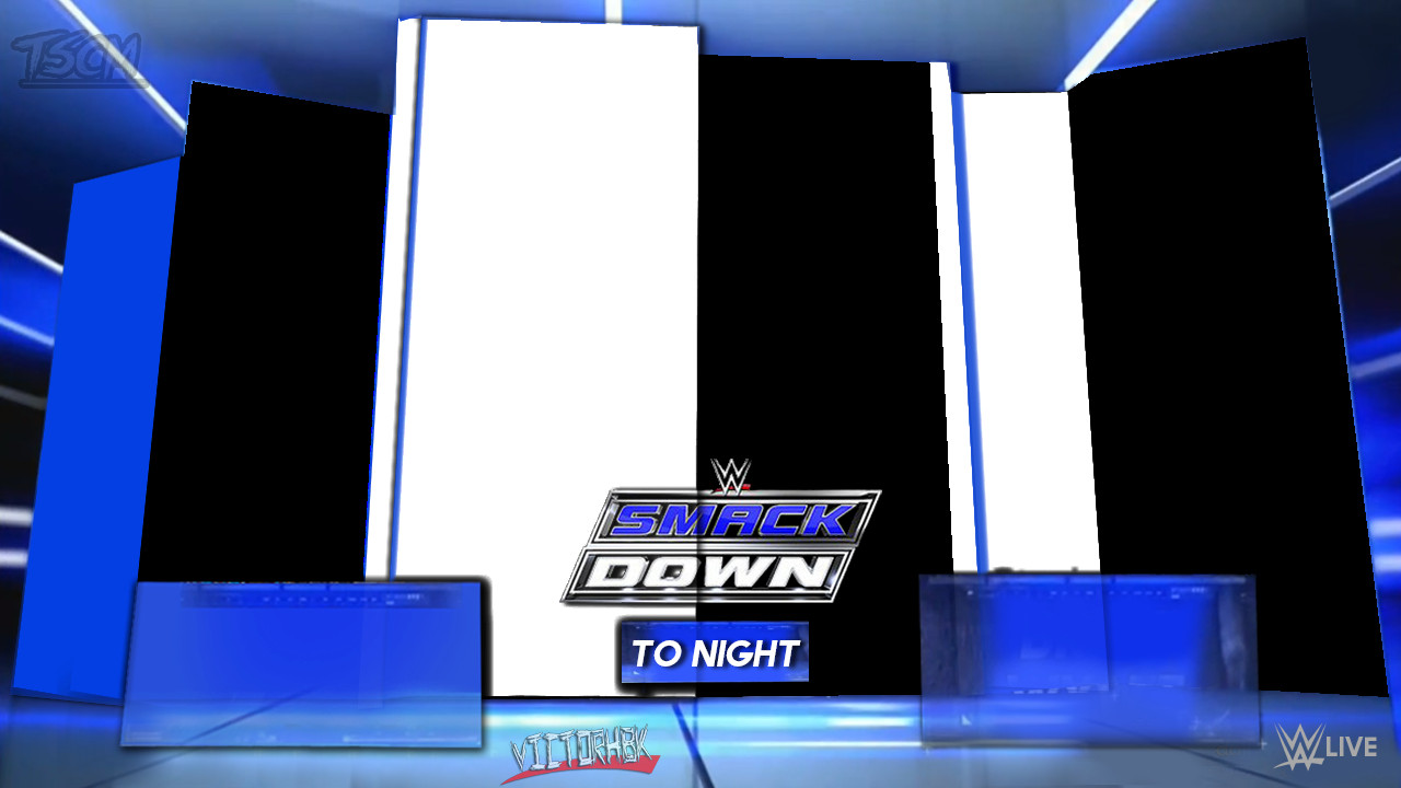 Smackdown Match Card Template Renders Backgrounds Logos Wwe Smackdown Matchcard 2016