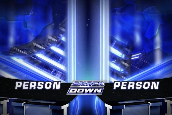 Smackdown Match Card Template Smackdown Template Gallery