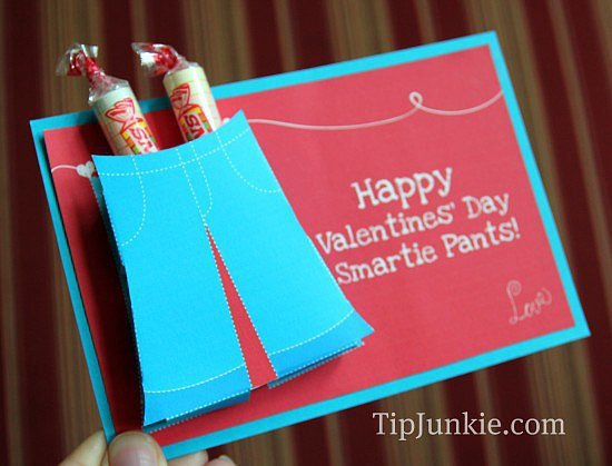 Smartie Pants Printable Template Smartie Pants Valentine S Printable