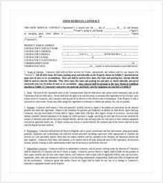Snow Removal Contract Sample Simple Snow Plowing Contract Template Shut Up