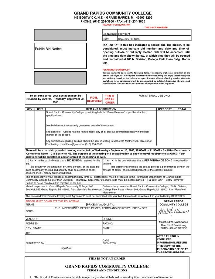 Snow Removal Contract Templates Download Basic Snow Removal Contract Template for Free