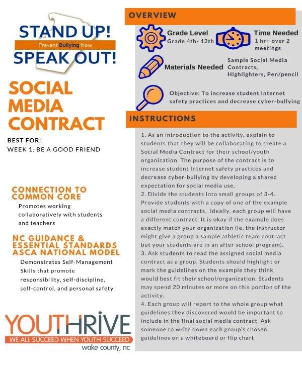 Social Media Contracts Templates 3 social Media Contract Templates Pdf