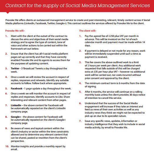 Social Media Contracts Templates social Media Contract Templates Find Word Templates
