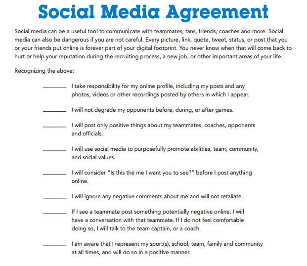 Social Media Contracts Templates social Media Contract Templates