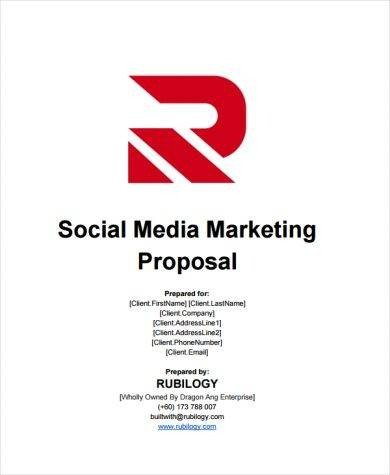 3 Social Media Marketing Contract Templates PDF Word