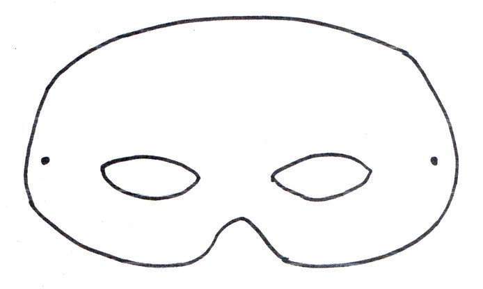 Spa Mask Template How to Make Felt Animal Masks