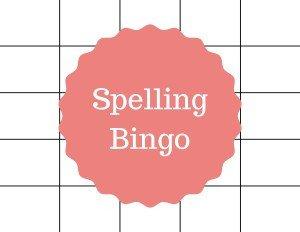 Spelling Bingo Board Creative Ways to Review Spelling Words