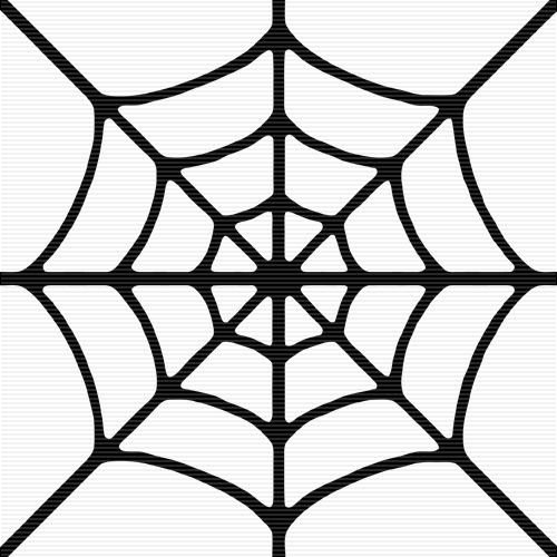 Spider Web Outline Spider Web Border Clipart