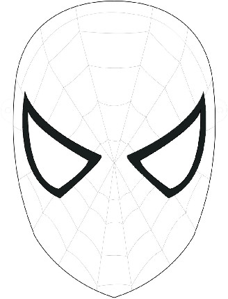 Spiderman Eye Template Free Spider Man Face Download Free Clip Art Free Clip