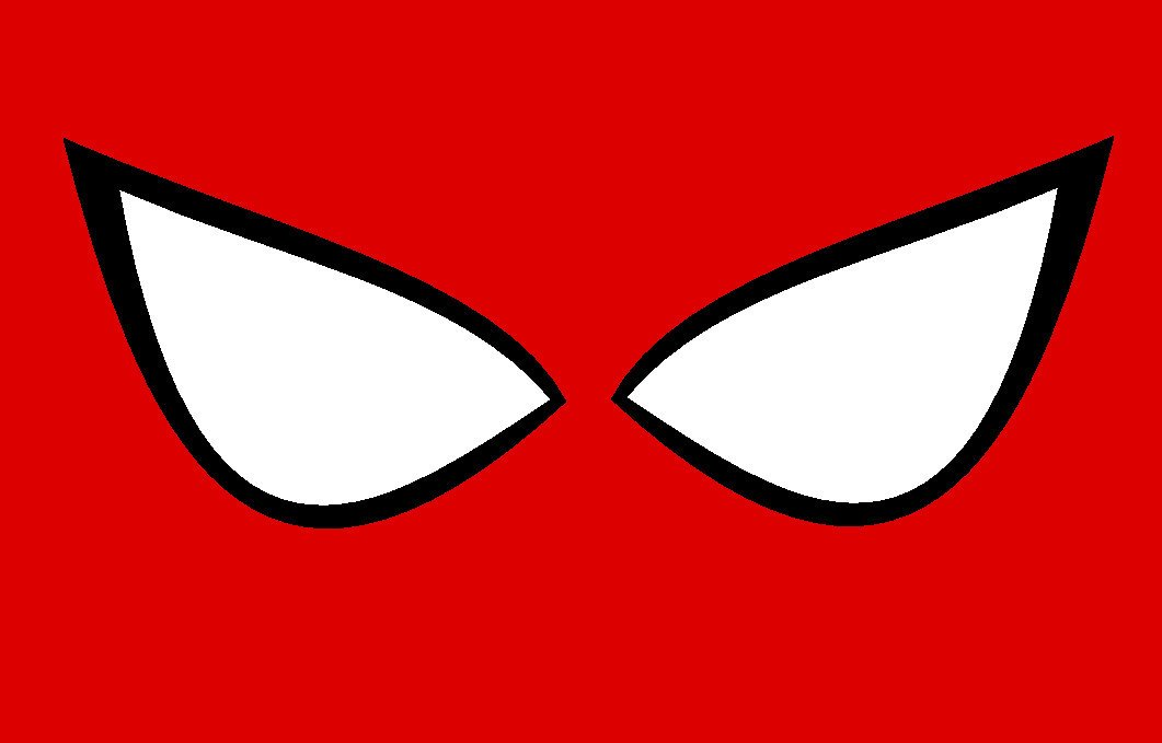 Spiderman Eye Template Spider Man Party On Pinterest