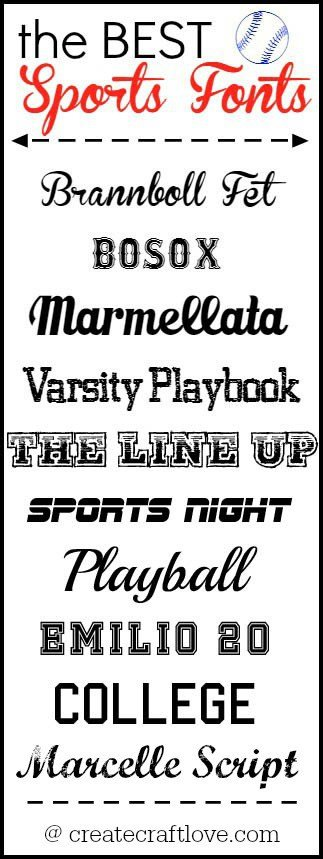 Sports Fonts In Word the Best Sports Fonts