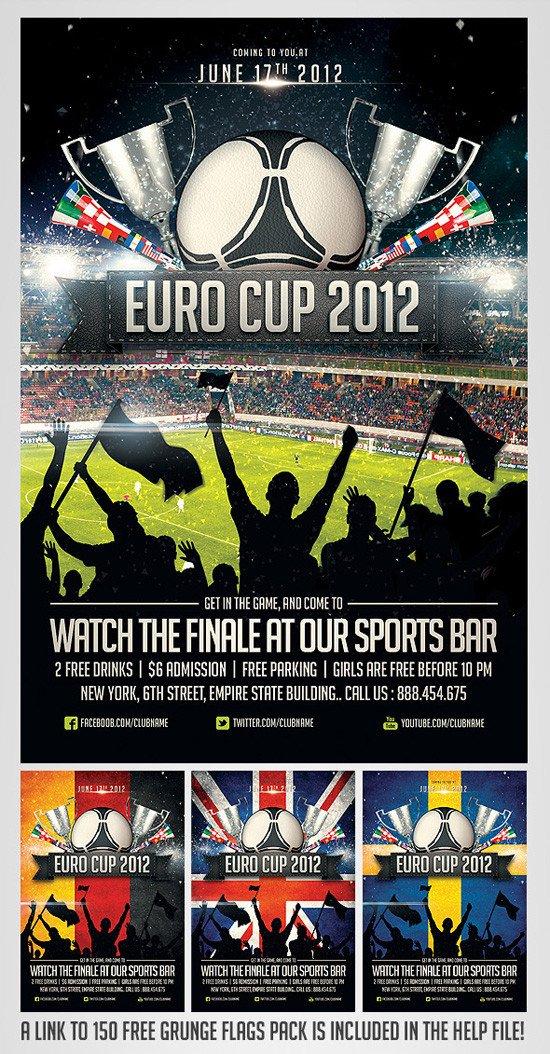 Sports Program Template Microsoft Word top 20 soccer Football Flyer Templates