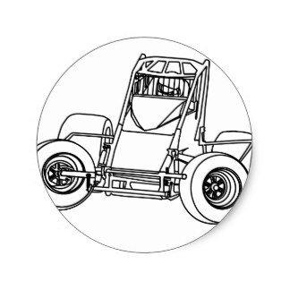 Sprint Car Drawing Sprint Car Drawing at Getdrawings